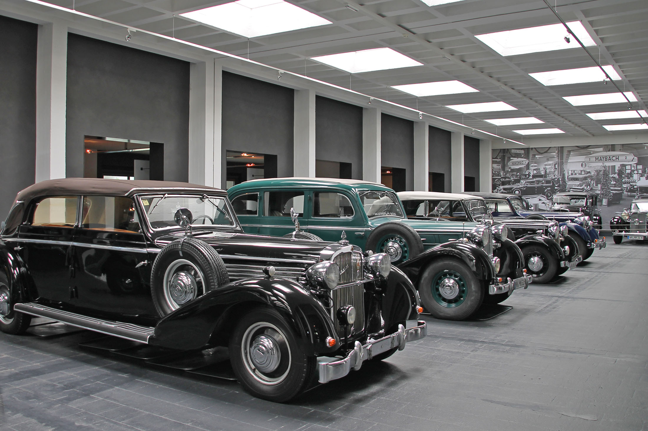 Museum for Historical Maybach-cars in Neumarkt -  Neumarkt Maybachmuseum
