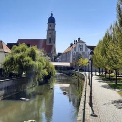 Das Vilsufer in Amberg