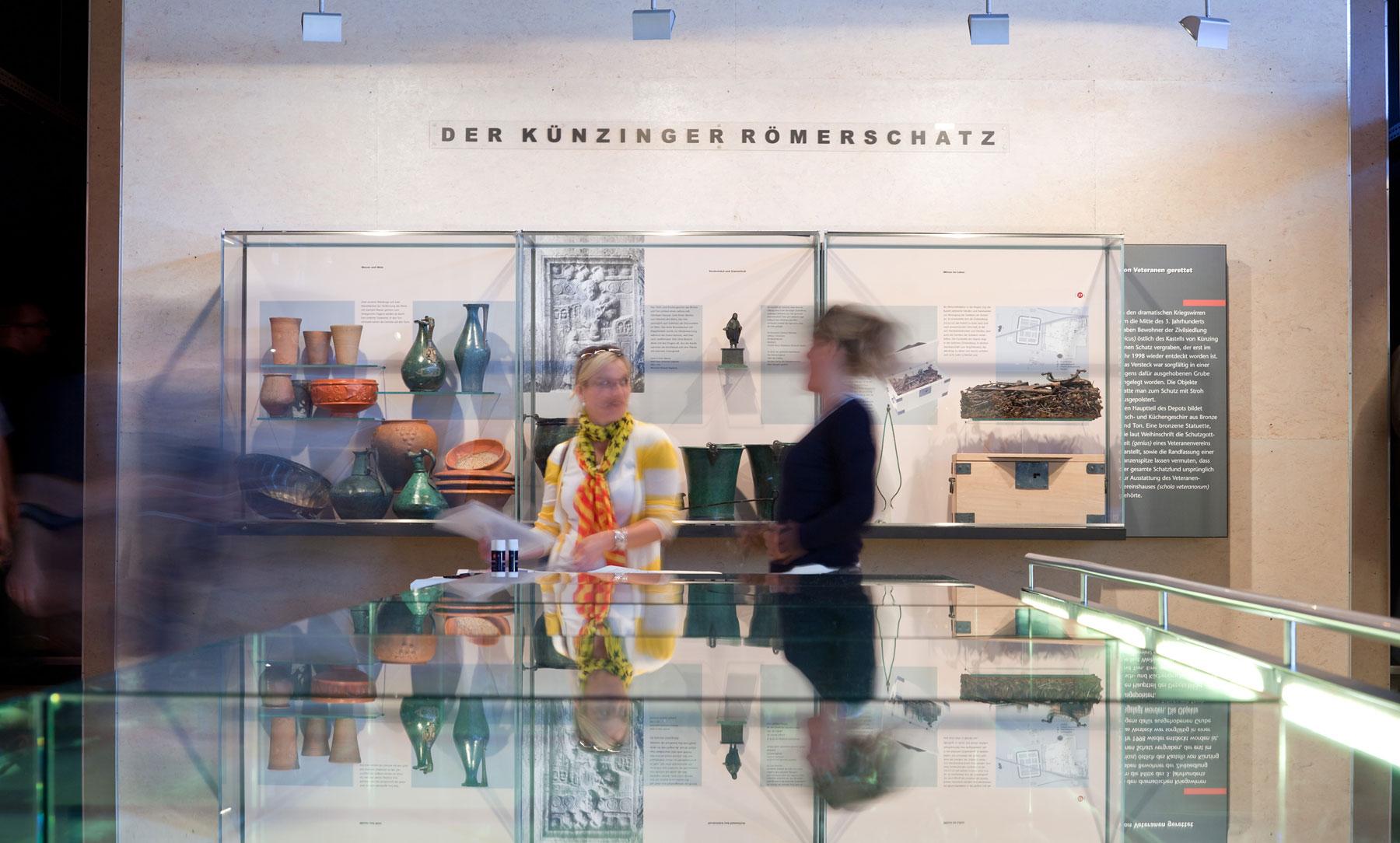 Der Künzinger Römerschatz im Museum Quintana