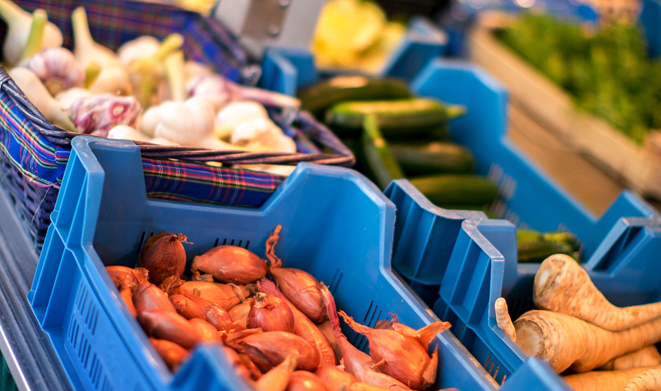 Regionale Gemüsesorten am Bauernmarkt