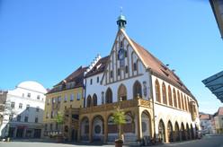Das Amberger Rathaus wird bereits erstmals 1348 schriftlich erwähnt.