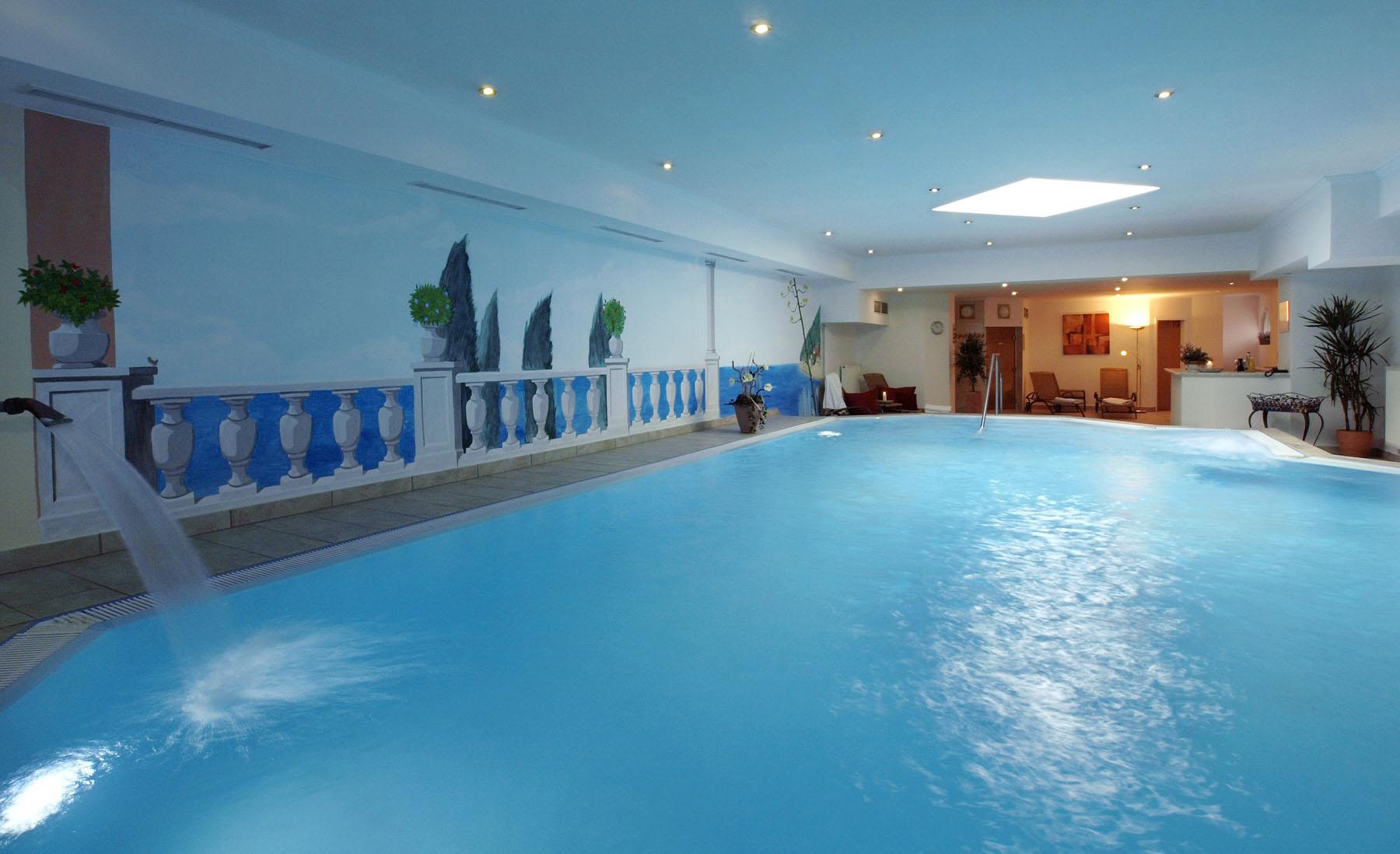 Wellnessbereich im Hotel Waldeck