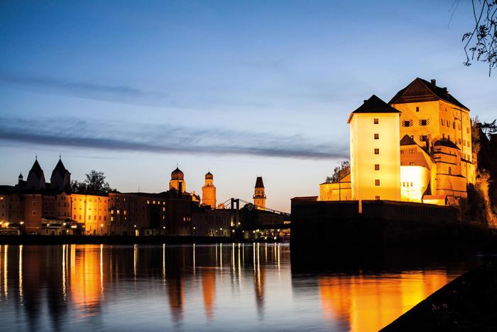 Kulturelle Highlights an drei Flüssen in Passau erleben