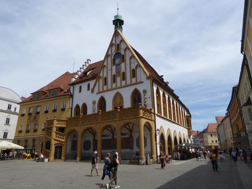 Die historische Stadt Amberg zählt zu den besterhaltenen mittelalterlichen Stadtanlagen Deutschlands.