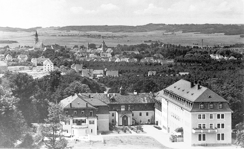 Blick über das Kloster St. Josef in Neumarkt i.d.OPf. (Archivbild)