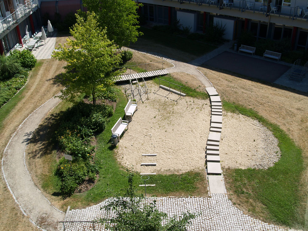 Bewegungsparkour Kurpark Bad Abbach