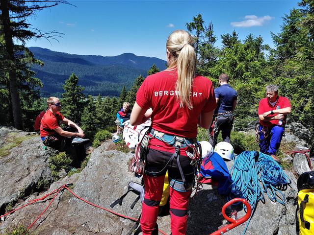 Sommer-Ausbildung-Bergwacht-Bayerwald