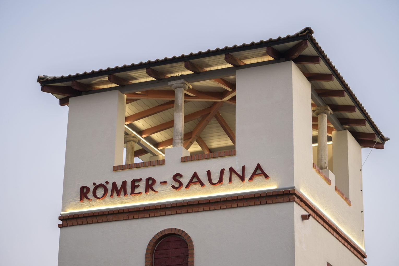 Die Römer-Sauna in Bad Gögging