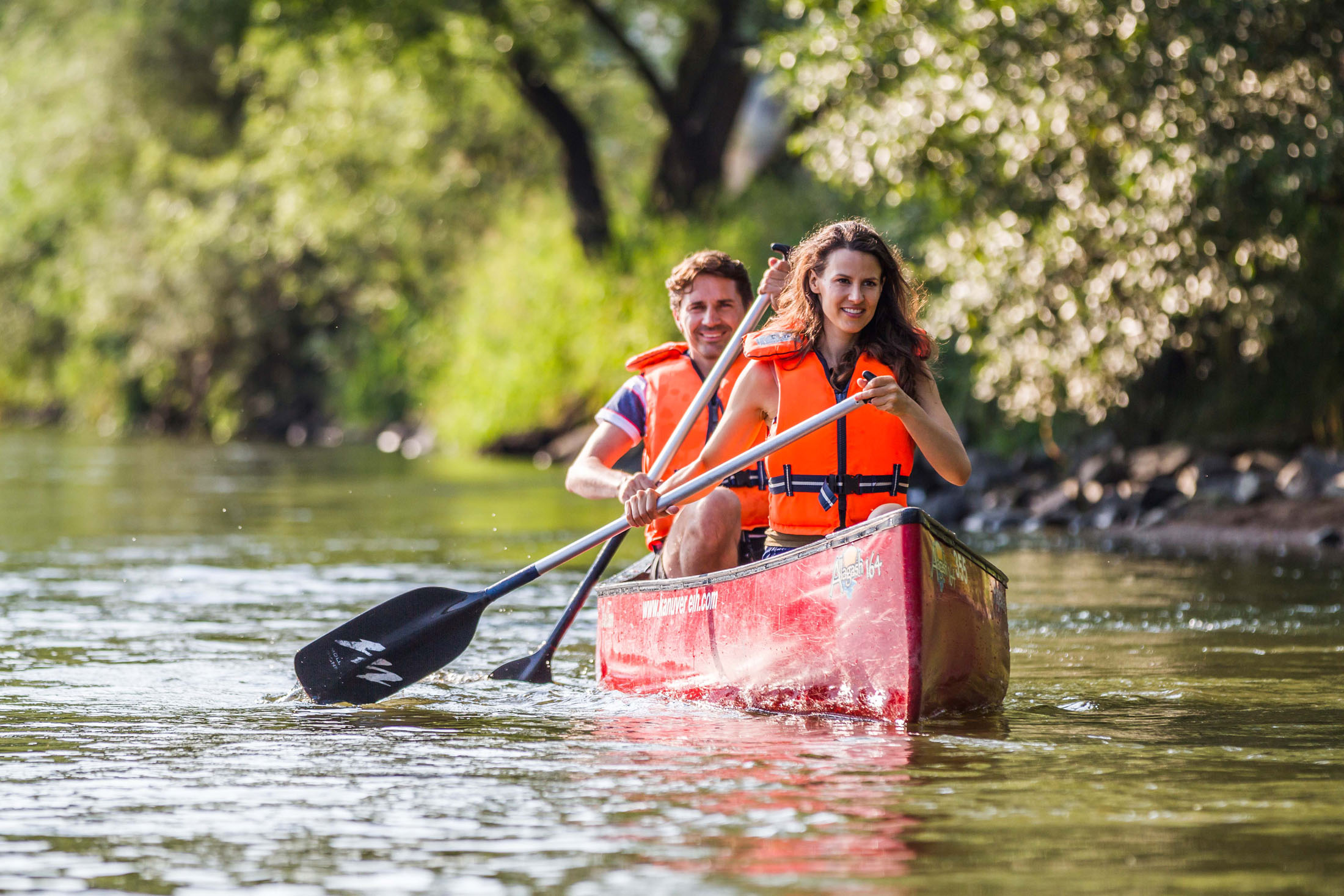 Explore the Upper Palatinate Forest from the water.