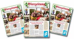 Die Bierzeitung mit Rezepten, Berichten und Reportagen kann kostenlos beim Tourismusmverband Ostbayern e.V. bestellt werden.