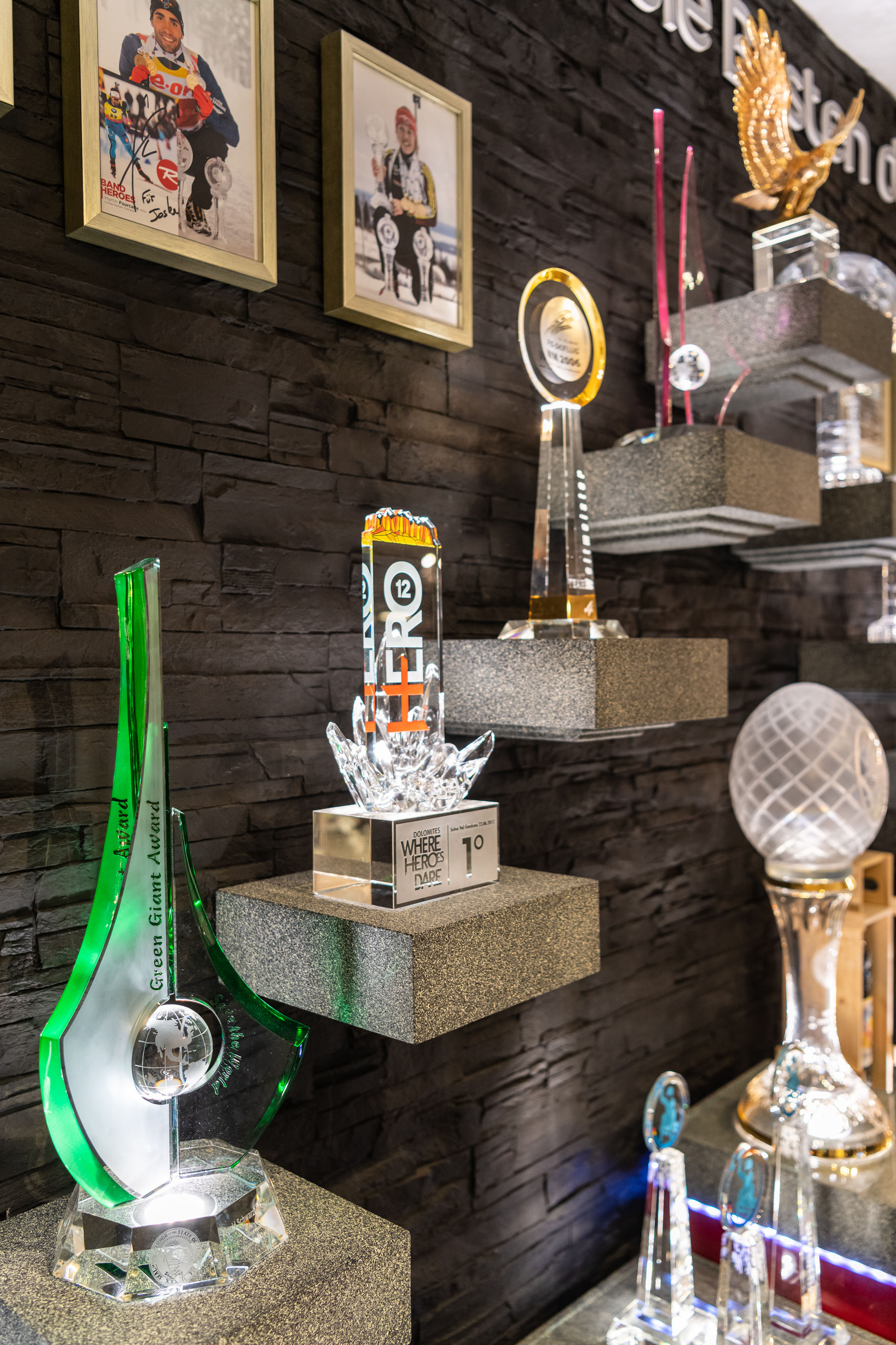 JOSKA crystal trophy - Glaspokale bei JOSKA