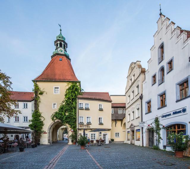 Stadt Weiden, Unteres Tor, Klassik Hotel am Tor