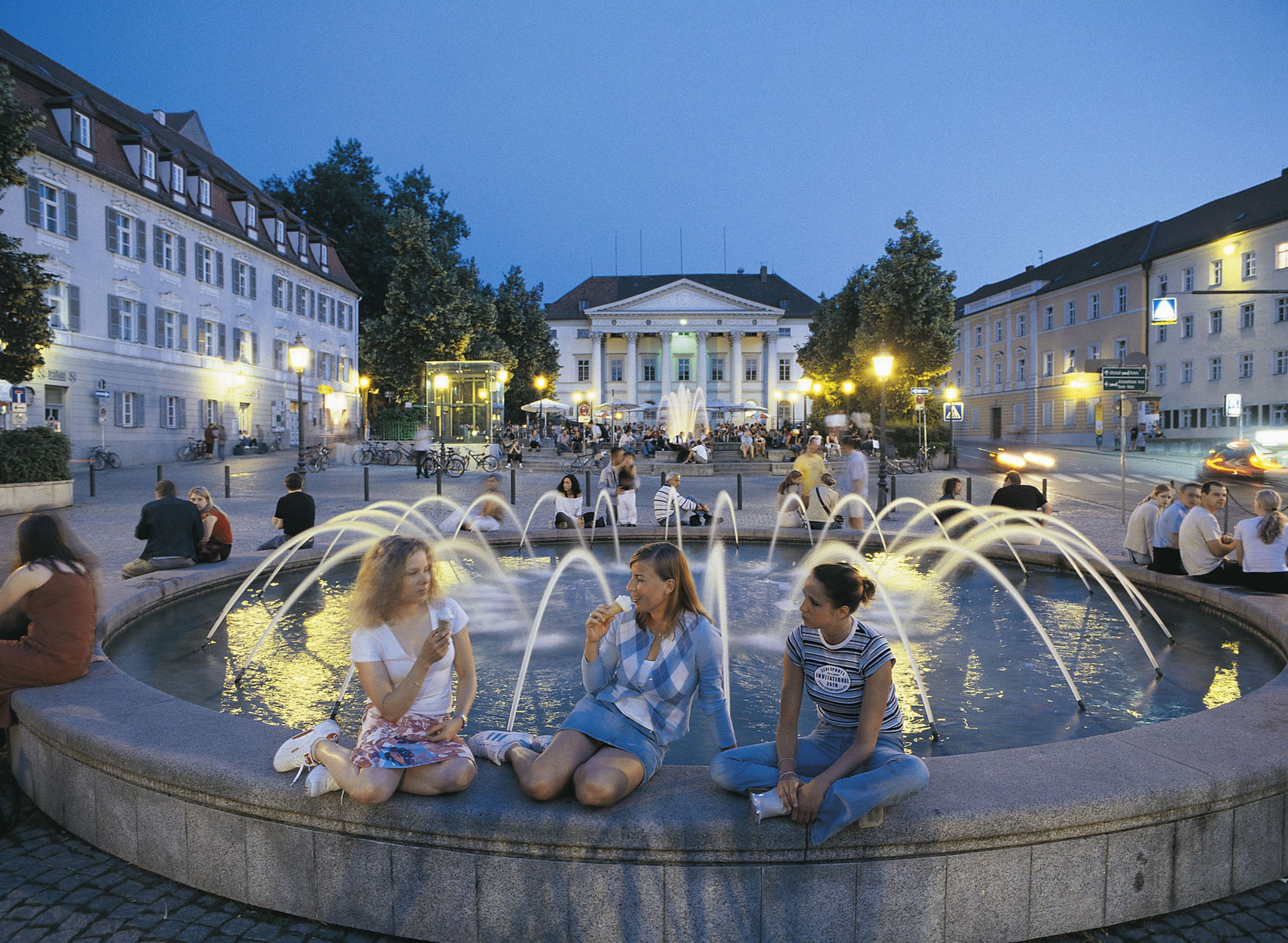 The town is characterised by its special and – despite its age - youthful charm