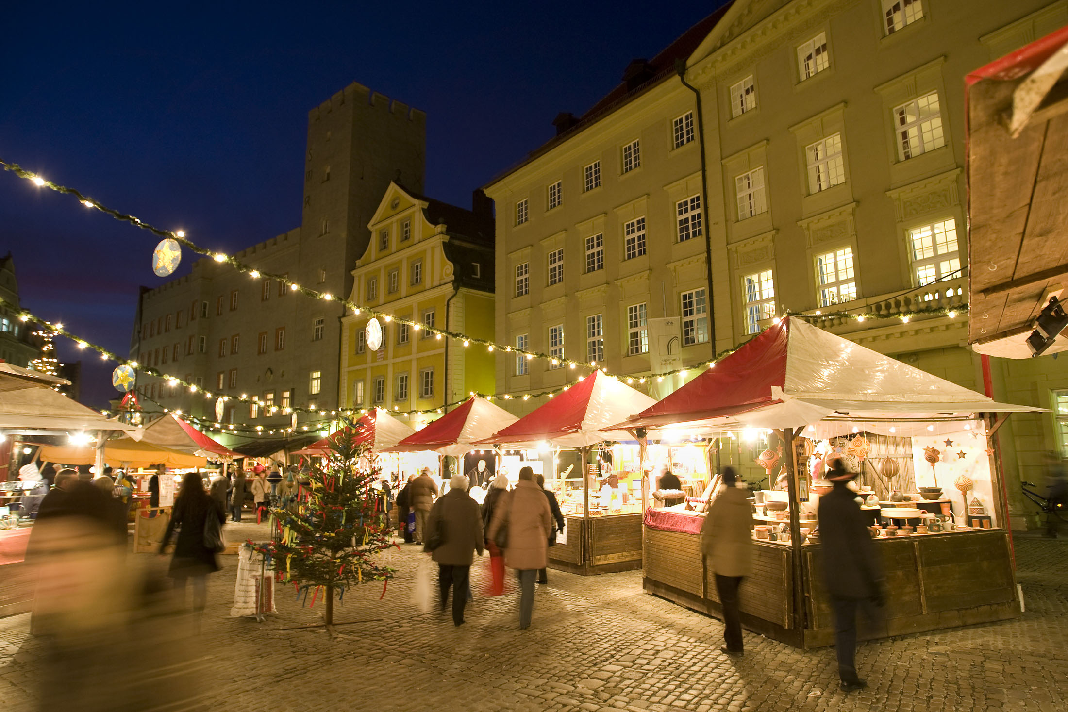 Christmas Market Regensburg - Christkindlmarkt Regensburg