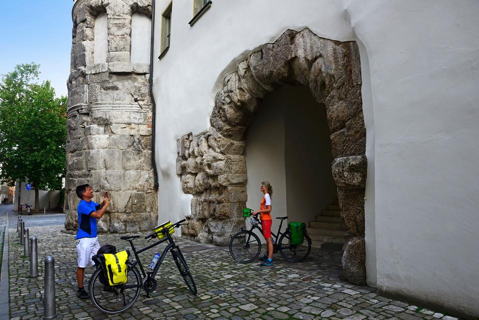 Die Porta Praetoria in Regensburg - ein Zeitzeuge der römischen Besiedlung