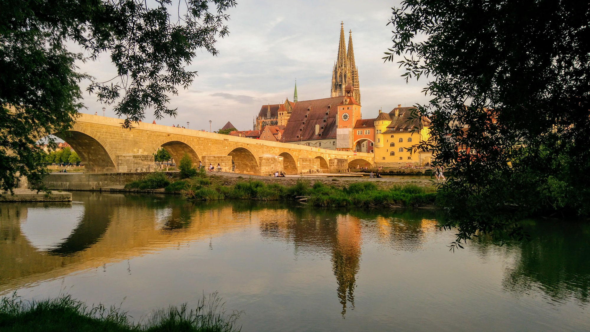 Regensburg is the best-preserved, medieval town in Germany and a UNESCO World Heritage Site.