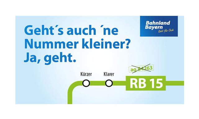 Liniennummernsystem Bahnland Bayern