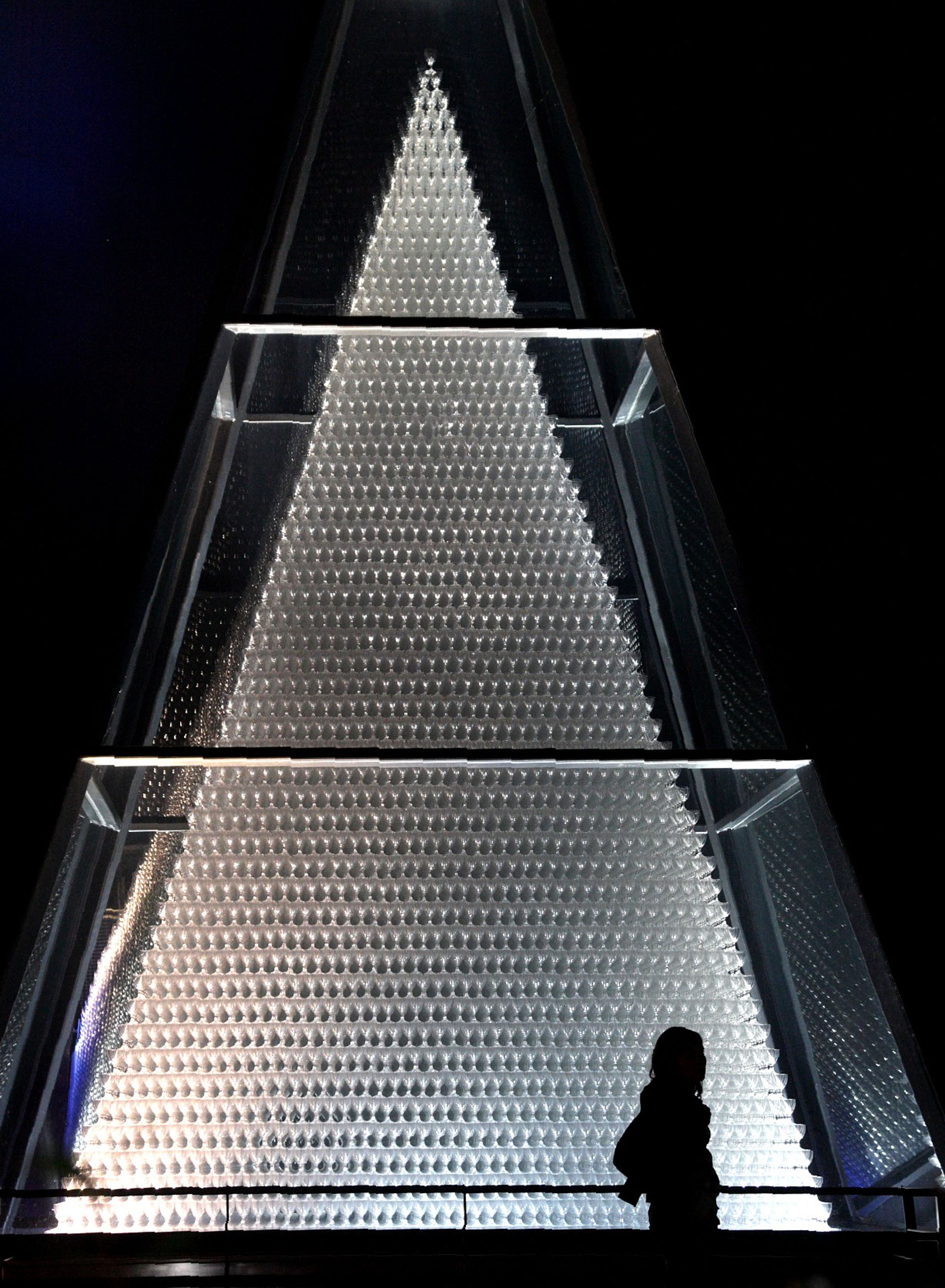 The largest glass pyramid in the world - Glaspyramide in Zwiesel