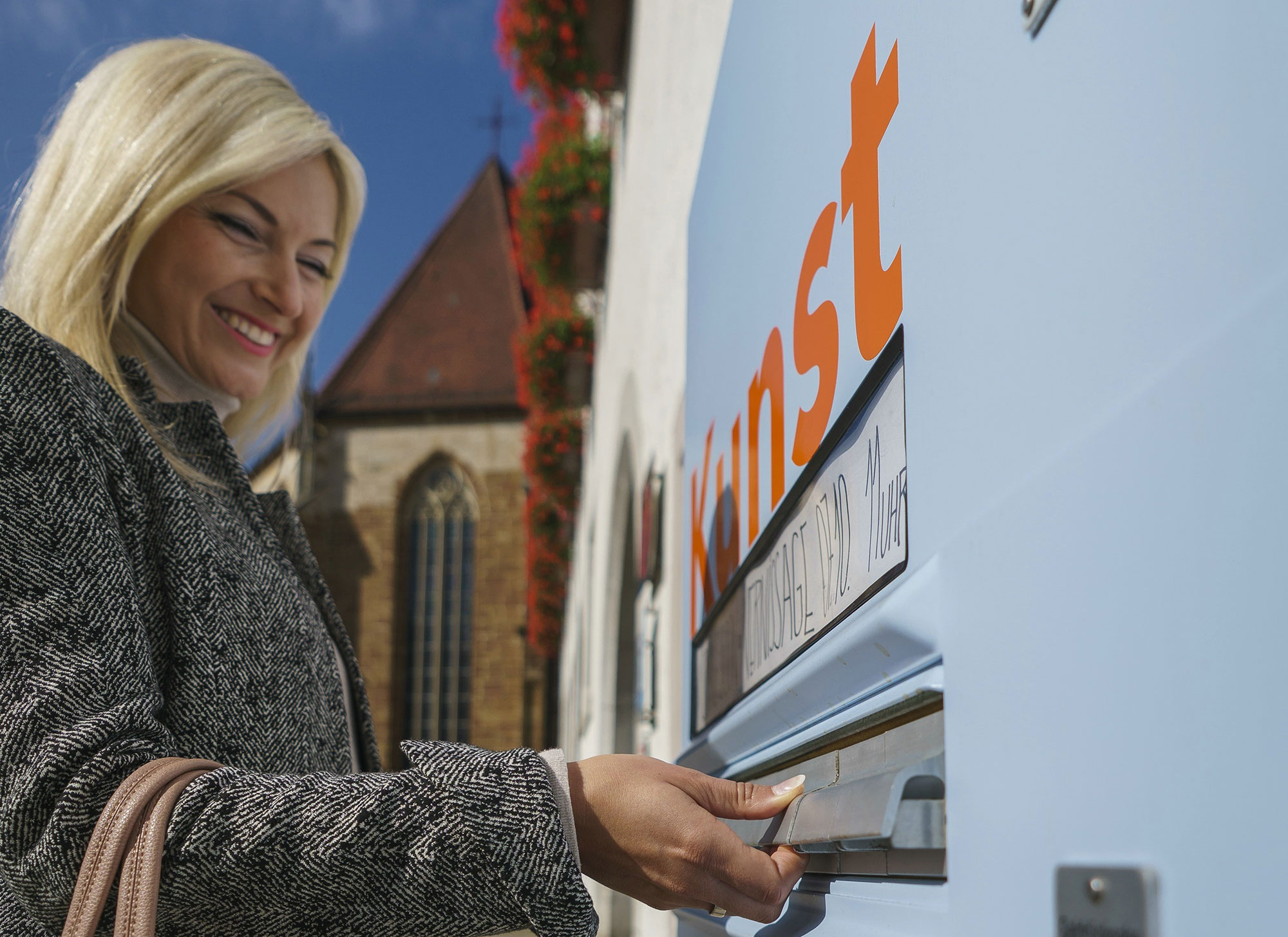 """Kunst ohne Filter"" aus dem Zigarettenautomat"