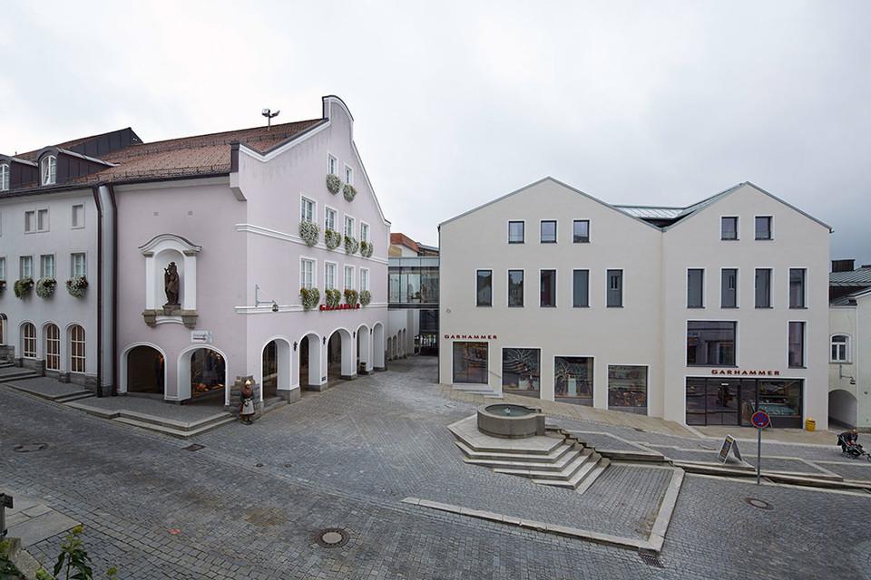 Außenansicht GARHAMMER Marktplatz