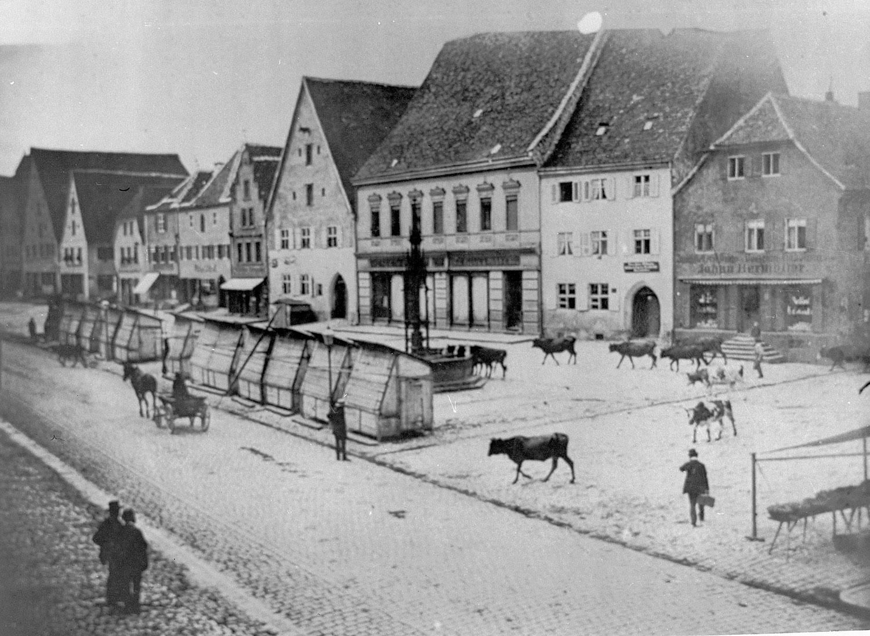 Der Marktplatz in der Neumarkter Altstadt (Archivbild)