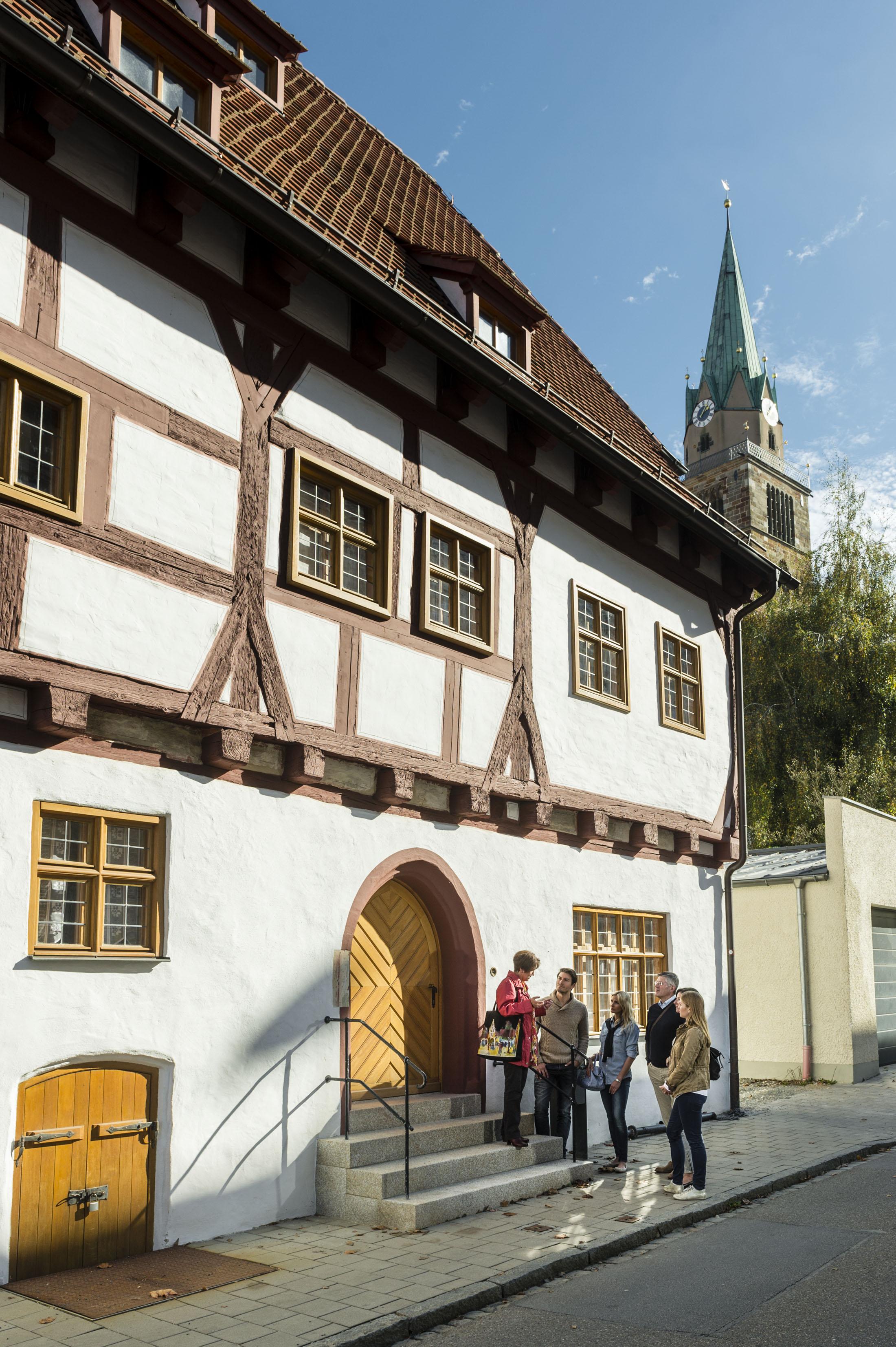 "The historic ""Schreiberhaus"" - Das Historische Schreiberhaus"