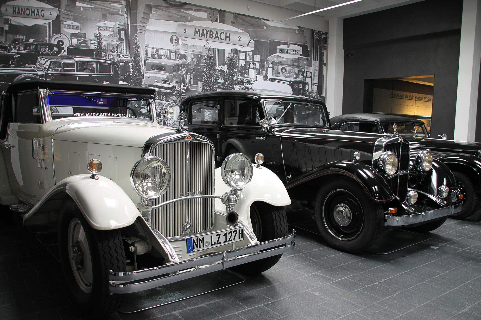 Einzigartige Ausstellung im Museum für historische Maybach-Fahrzeuge