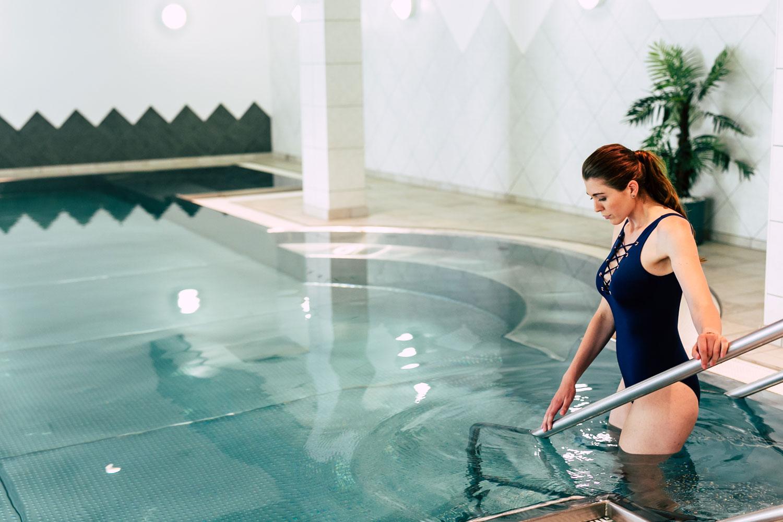 Wohltuende Ruhe und Entspannung im Wellness- und Spabereich