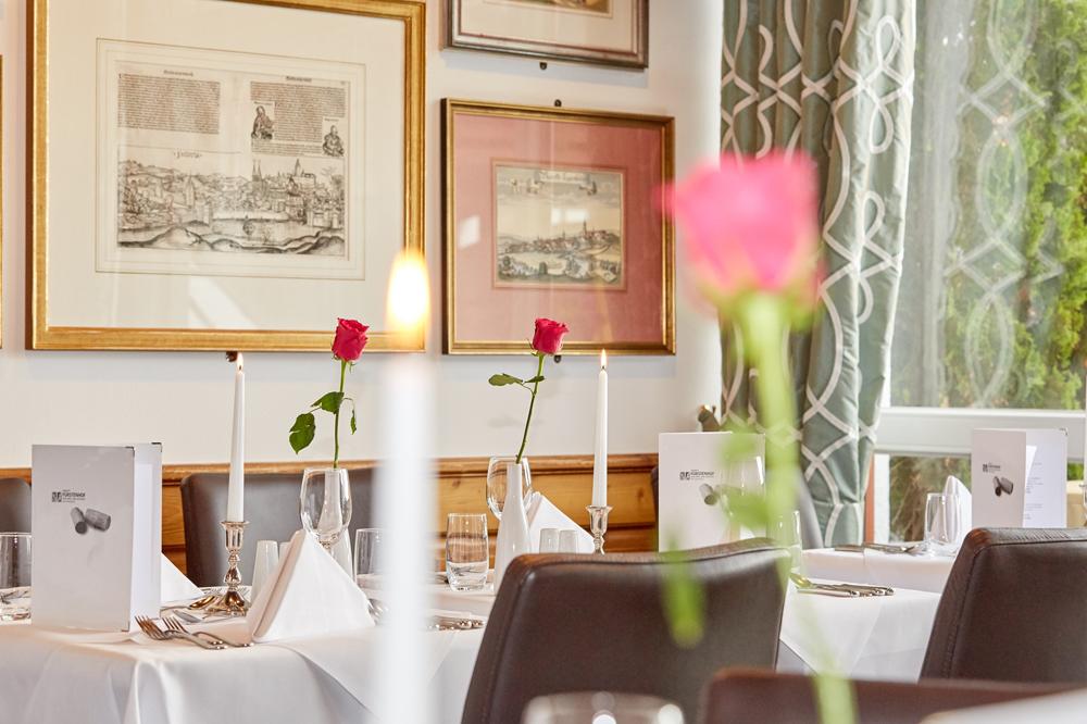 Restaurant des Hotel Fürstenhof
