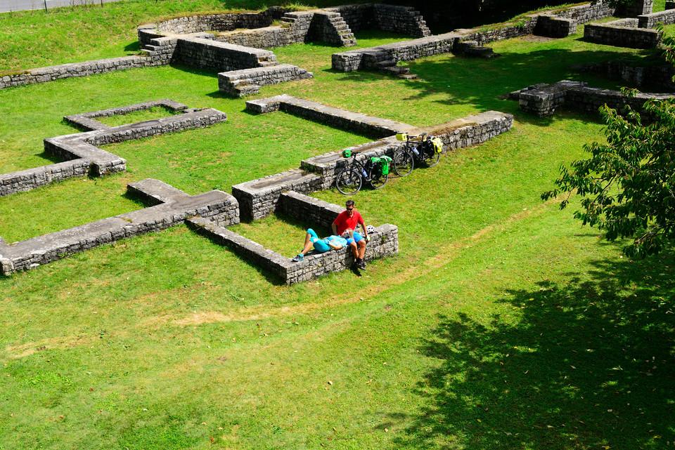 Das Römerkastell Abusina in Eining bei Bad Gögging