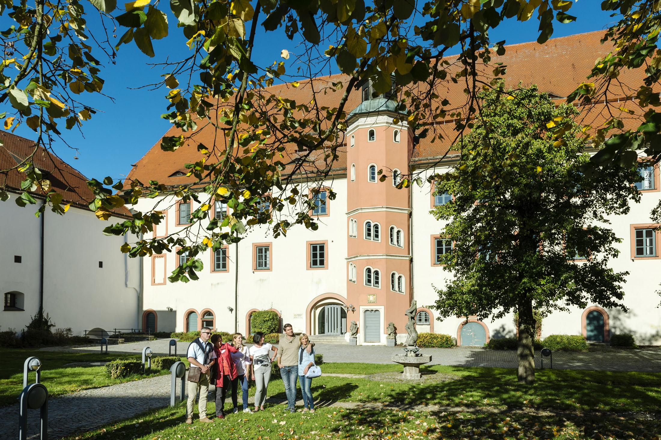 Castle of the Counts of the Palatinate - Neumarkter Residenz - ehem. Pfalzgrafenschloss