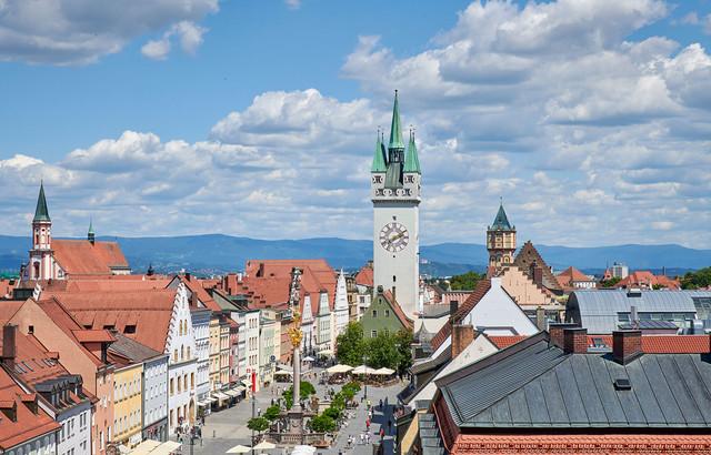 Stadtplatz von Straubing_Bernhard