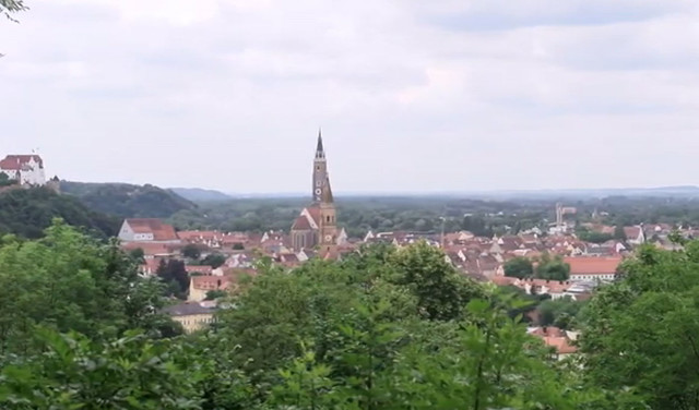 Blick auf Landshut
