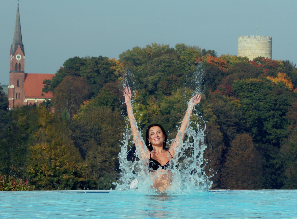 Feel the impact of the healing water of Bad Abbach.