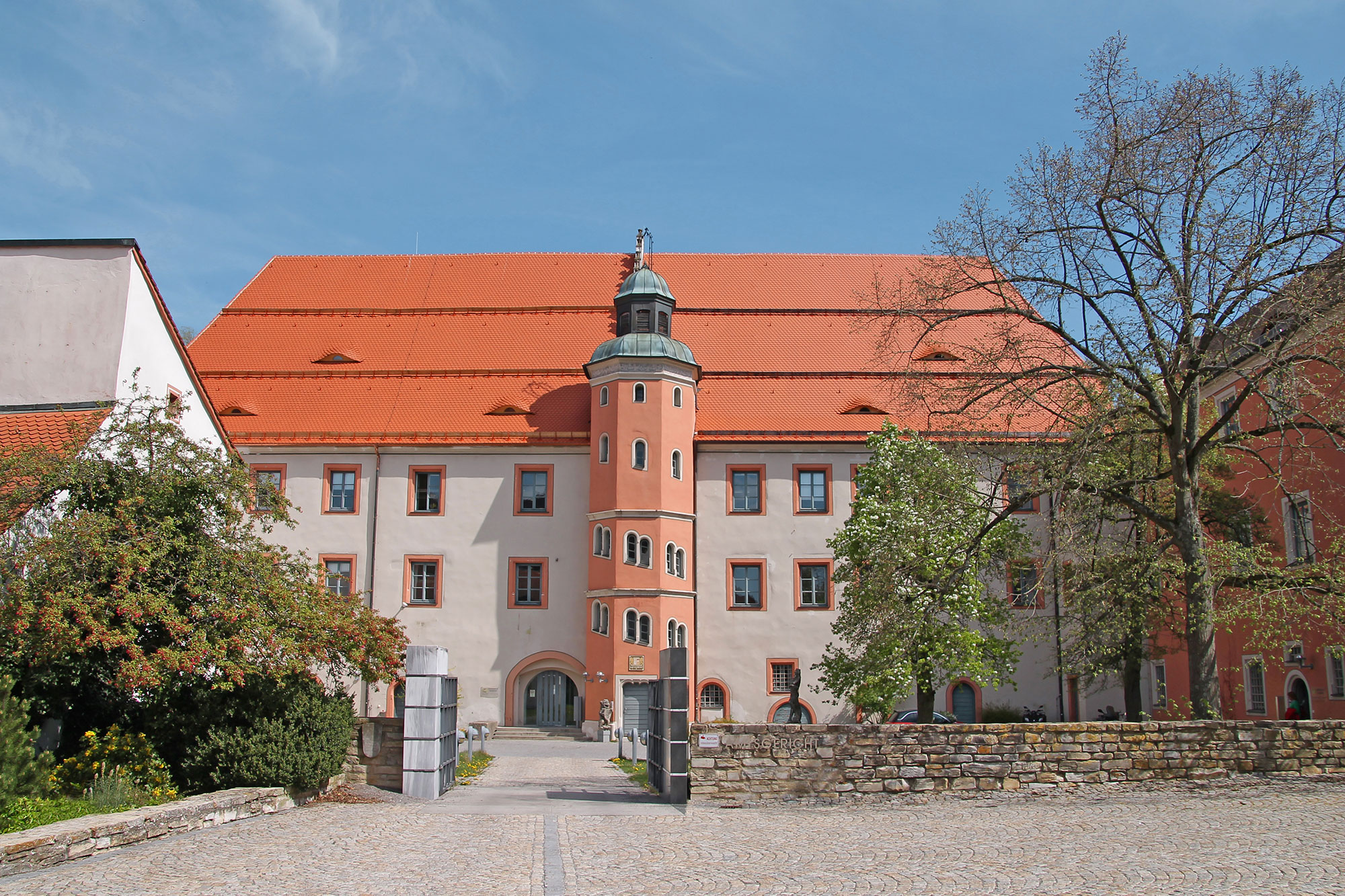 Das Pfalzgrafenschloss in Neumarkt.