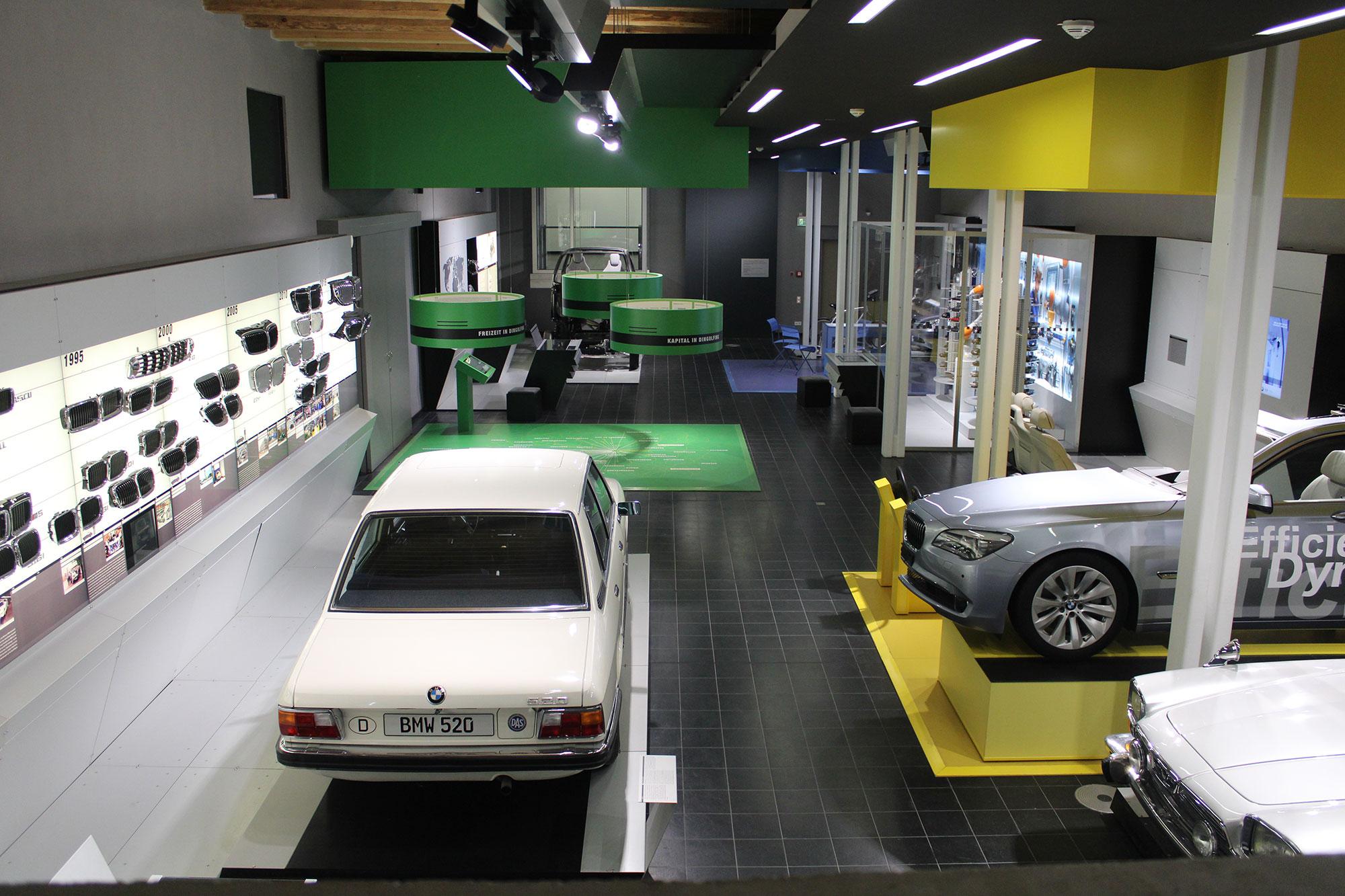 Das Museum in Dingolfing macht die bewegende Automobilgeschichte der Stadt lebendig.