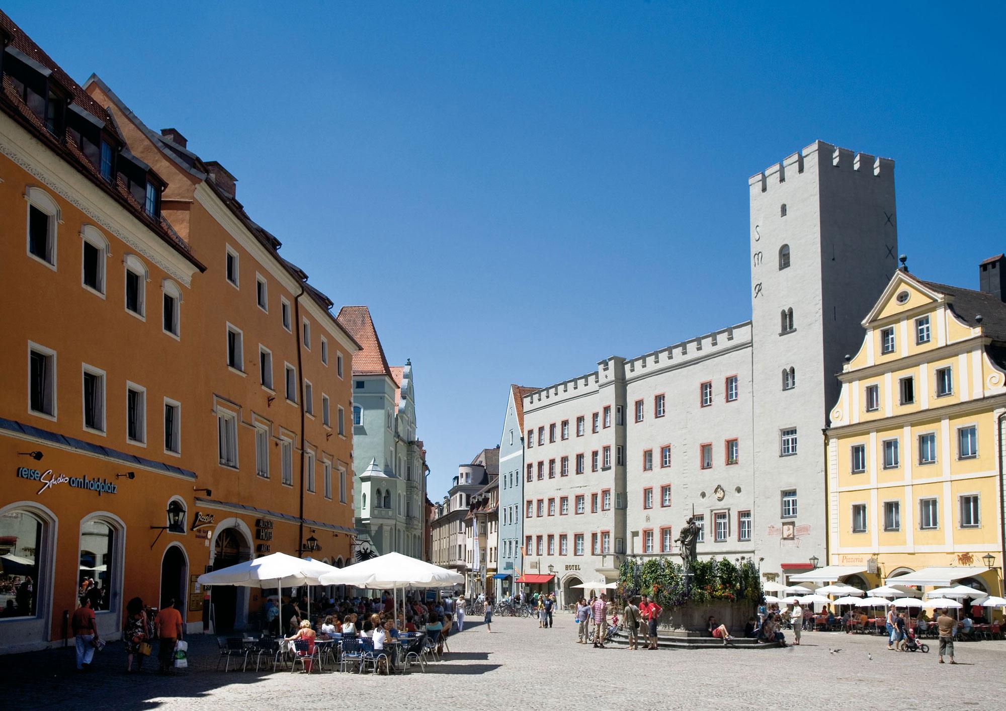 Medieval Places: Haidplatz
