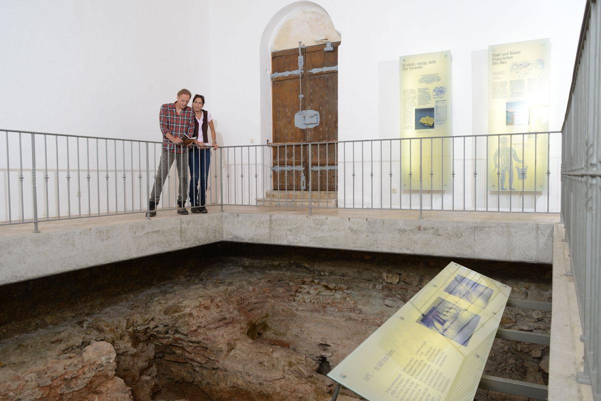 Auf Spurensuche in Bad Gögging im römischen Museum für Kur- und Badewesen