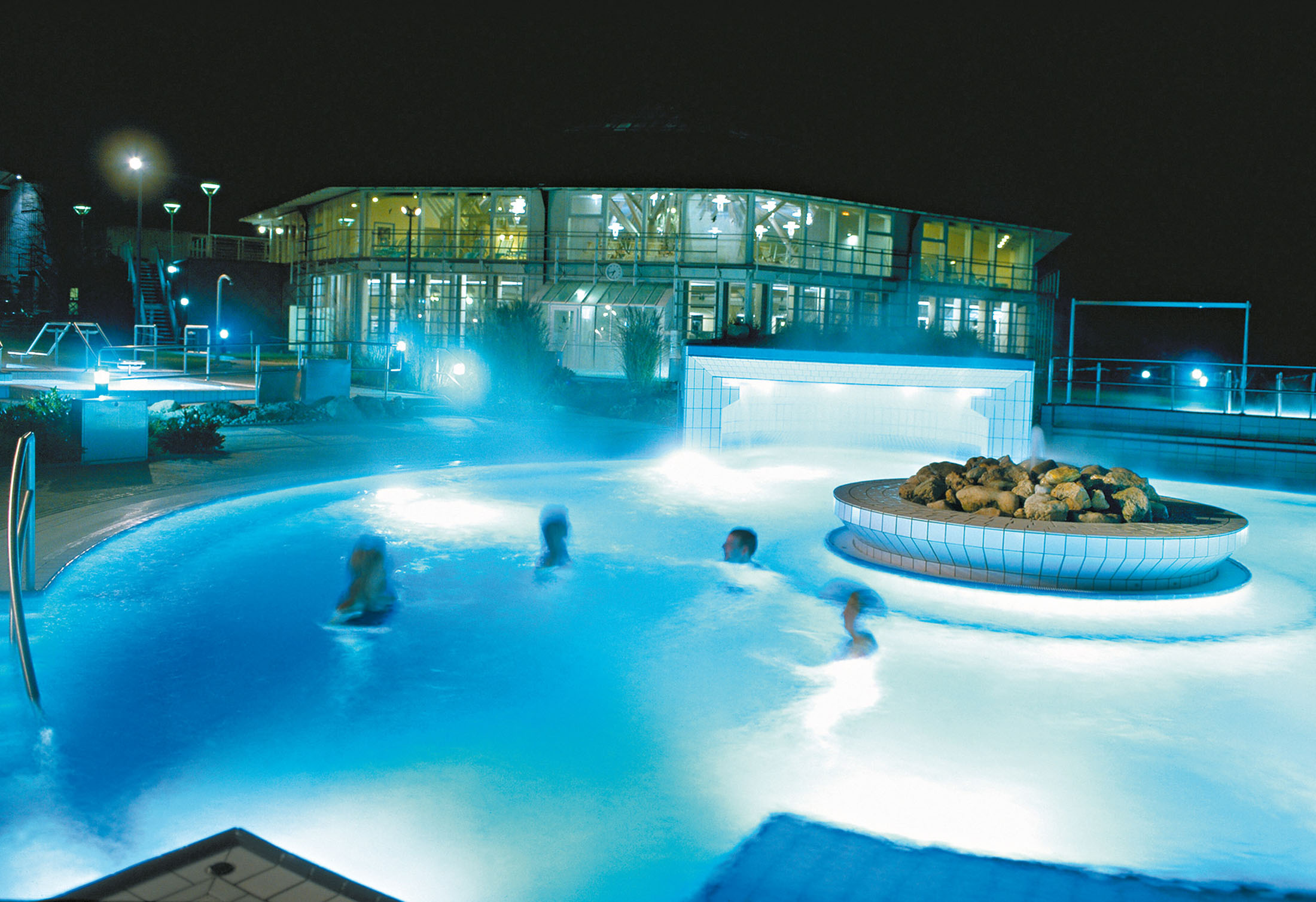 Recharging your batteries at the Rottal Terme in Bad Birnbach.