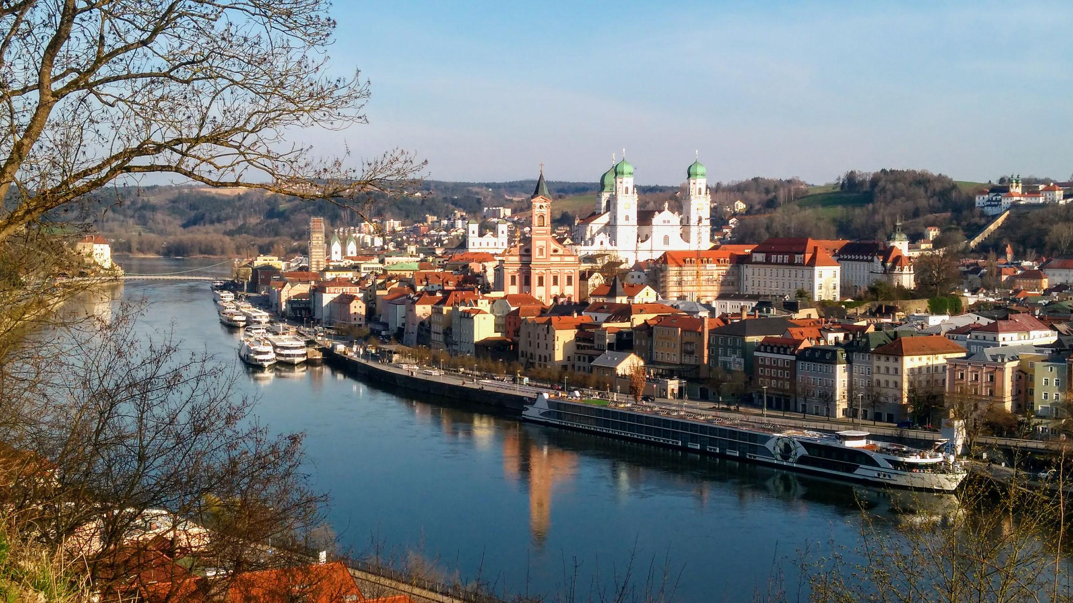 Passau the city on three rivers