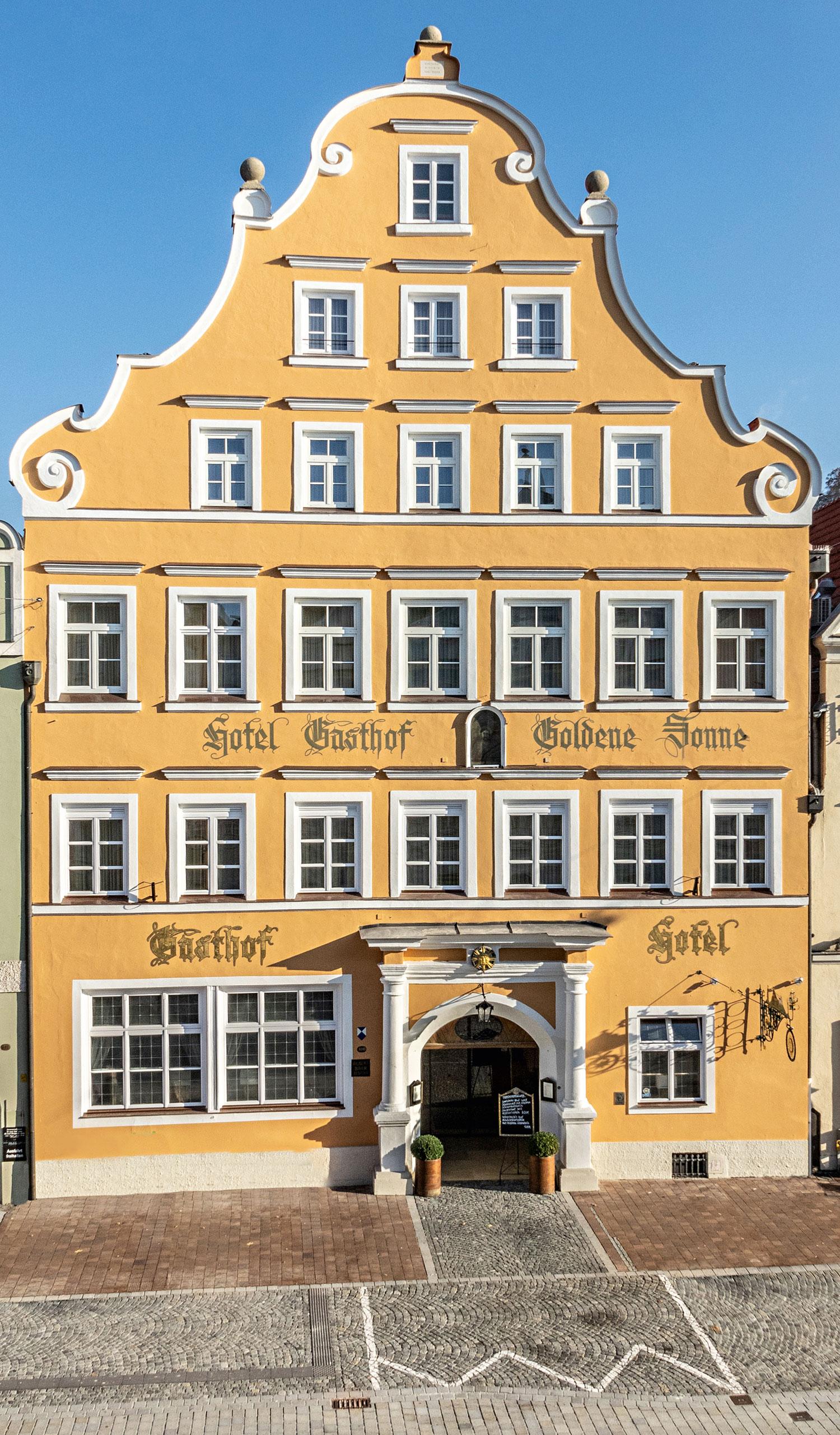 Renoviertes Hotel im Herzen von Landshut