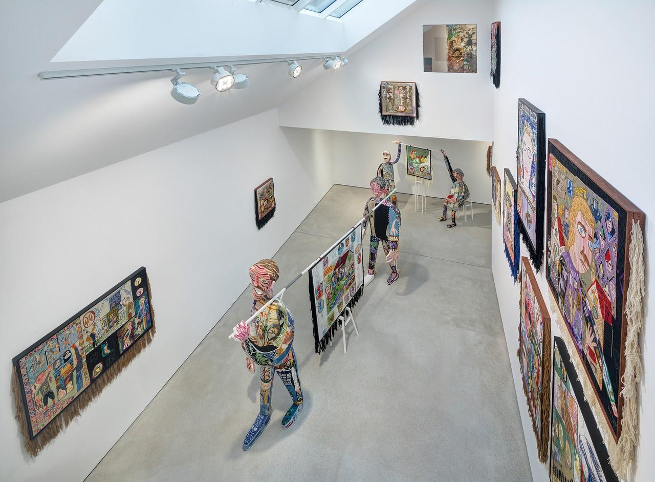 Zeitgenössische Kunst in Kombination mit moderner Architektur