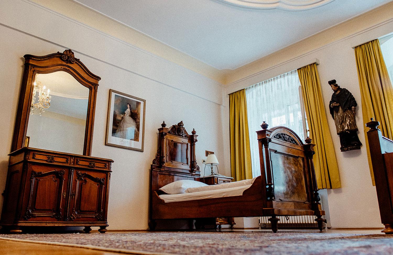 """Wovon hat Kaiserin Elisabeth """"Sissi"""" 1862 in diesem Zimmer geträumt?"""