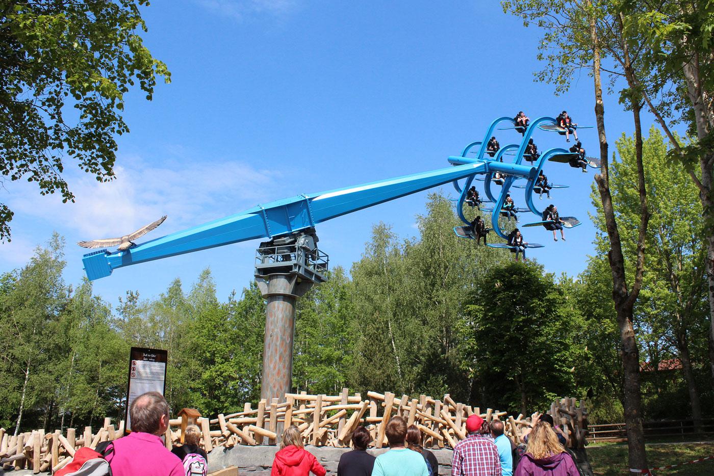 Der Bayern-Park ist ein großer Freizeit- und Vergnügungspark im Ferienland Dingolfing-Landau.