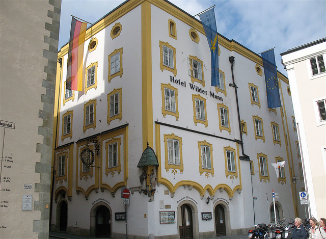 Stadt Passau, Hotel Wilder Mann