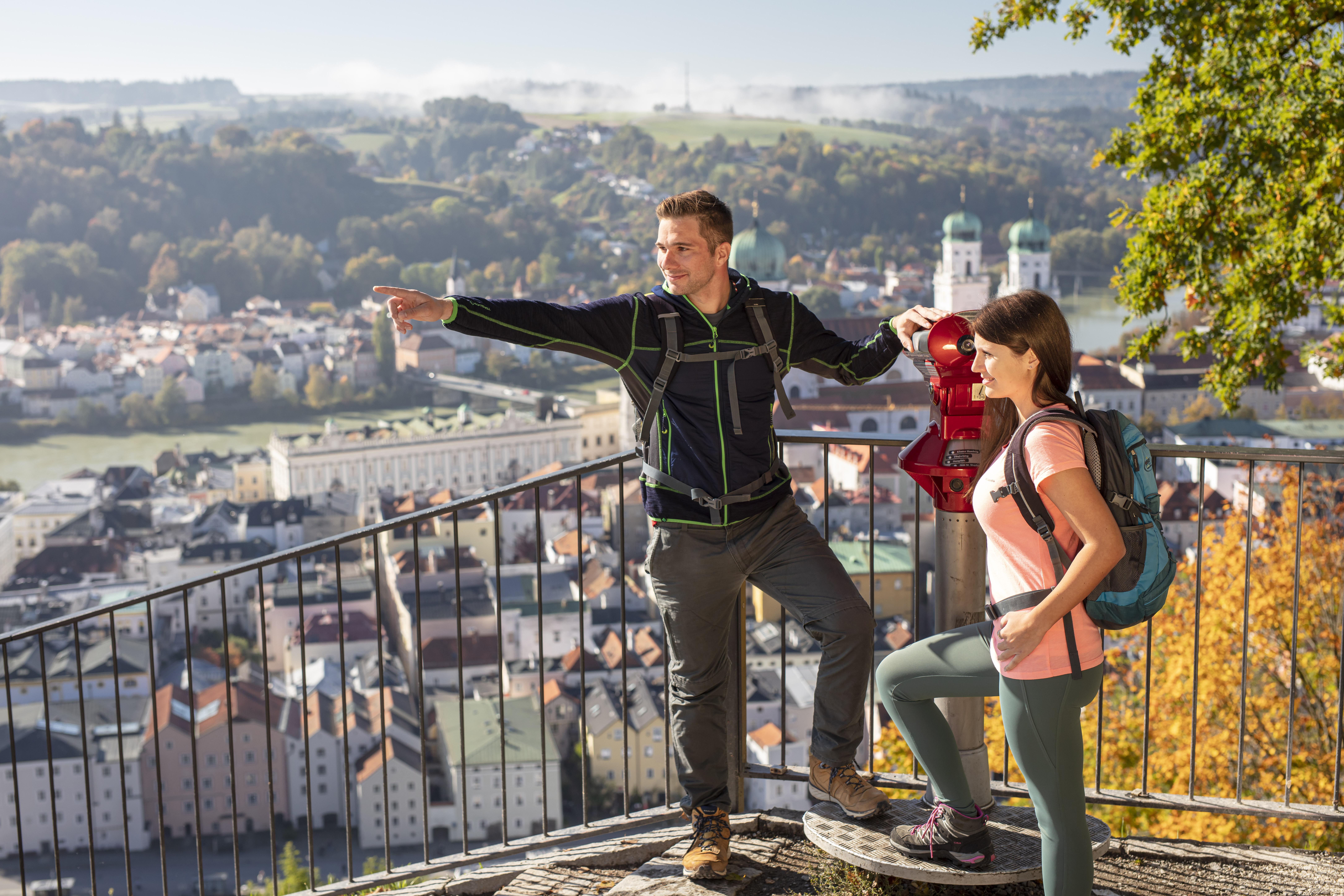 Genießt den wunderbaren Blick über die Passauer Altstadt!