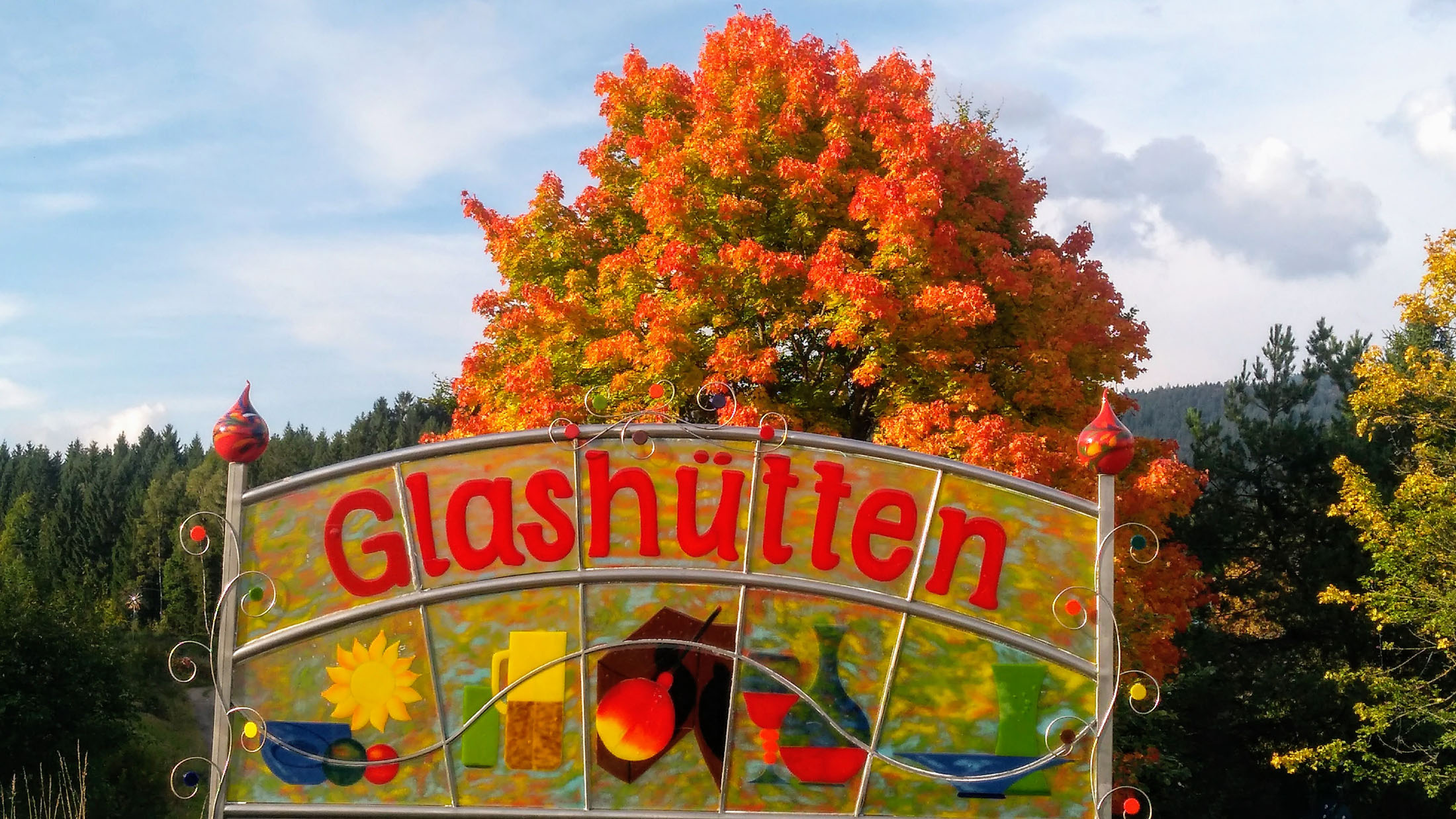 The production and processing of glass has a tradition spanning over 700 years in the Bavarian Forest and the Upper Palatinate Forest - Glashütten im Bayerischen Wald und Oberpfälzer Wald
