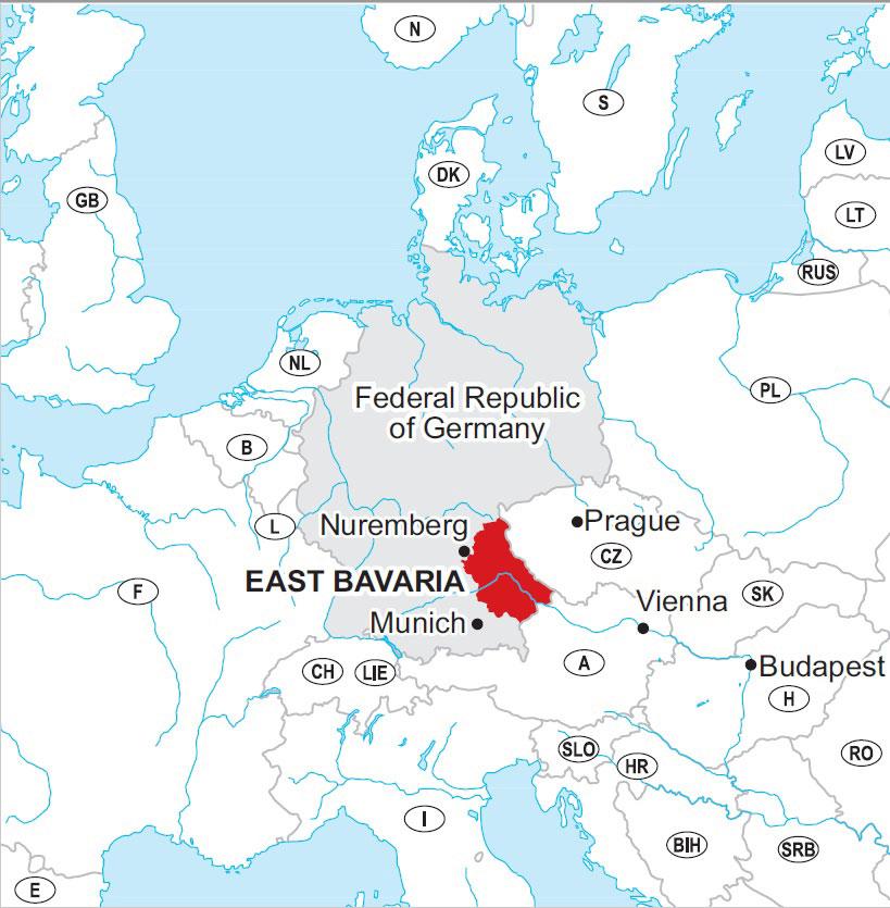 Your travel destination: East Bavaria