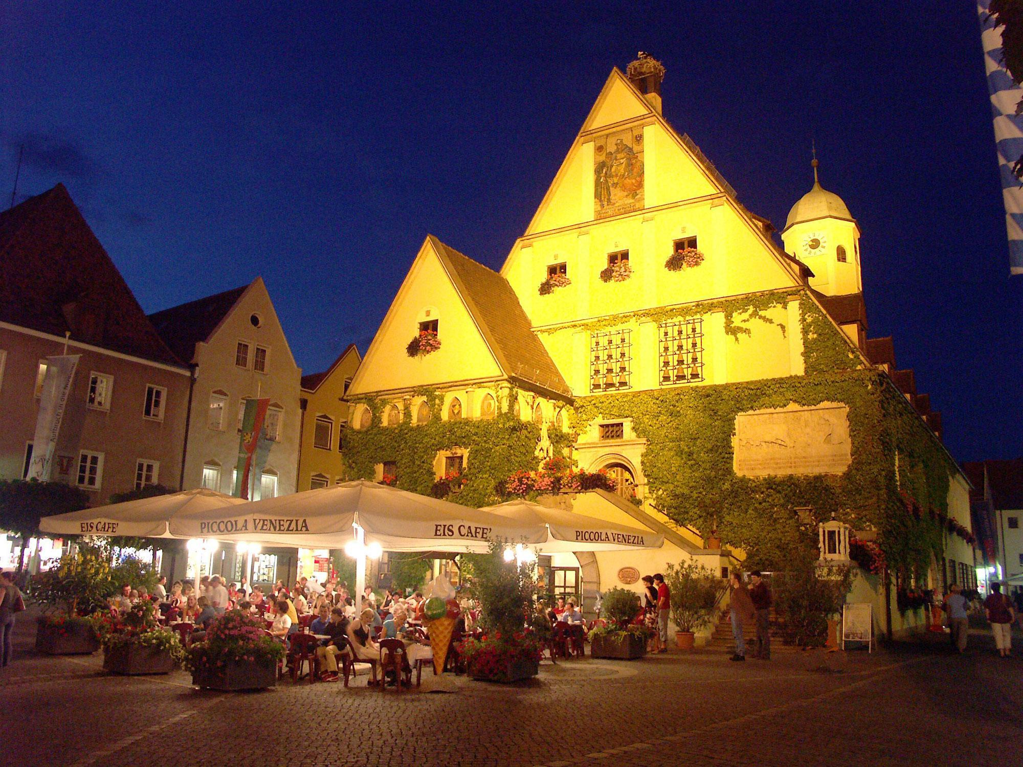 Weiden Old Town Centre