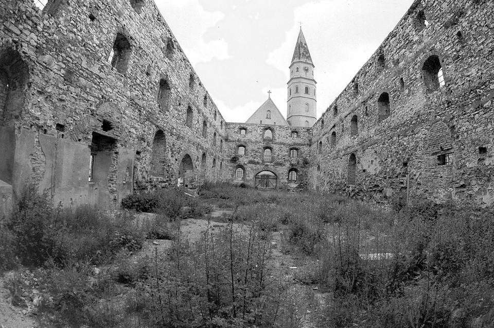 Der ehemalige Neumarkter Reitstadel wurde im Zweiten Weltkrieg zerstört.
